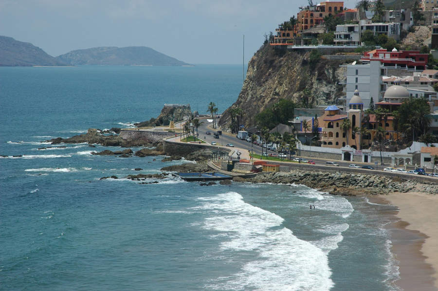Playa en Mazatlán, la Perla del Pacífico