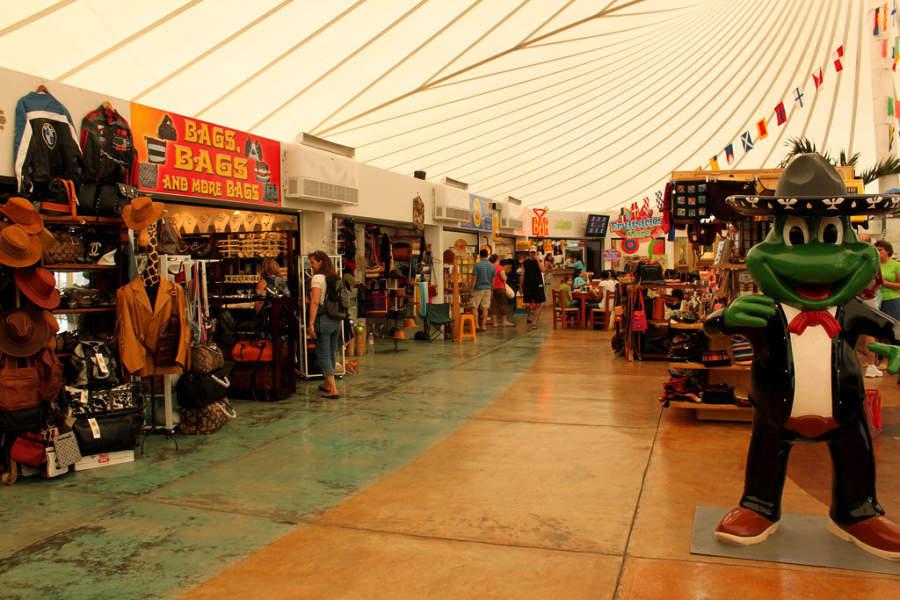 Tiendas de recuerdos y artesanías en Mazatlán
