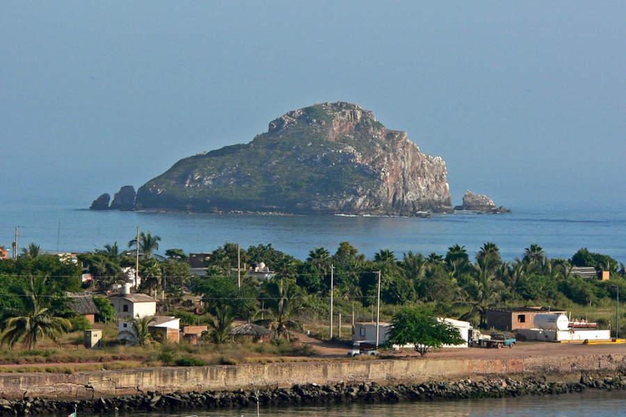 Isla Cordones cerca de Mazatlán