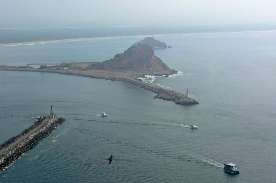 Isla de la Piedra cerca de Mazatlán