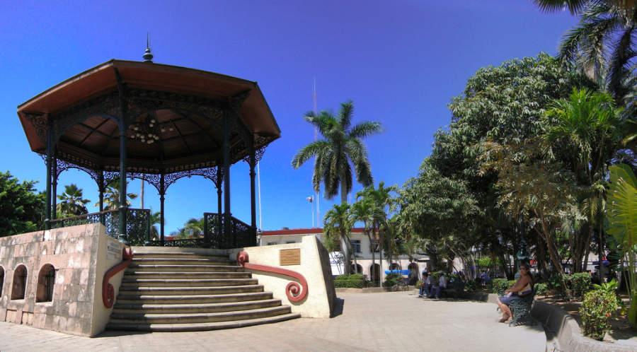Plazuela República en Mazatlán