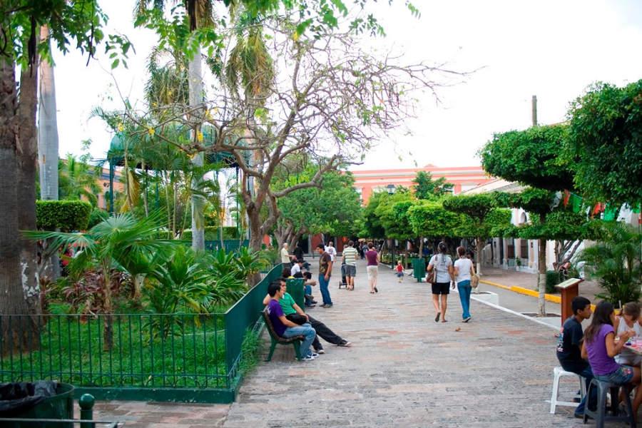 Plaza Machado en Mazatlán