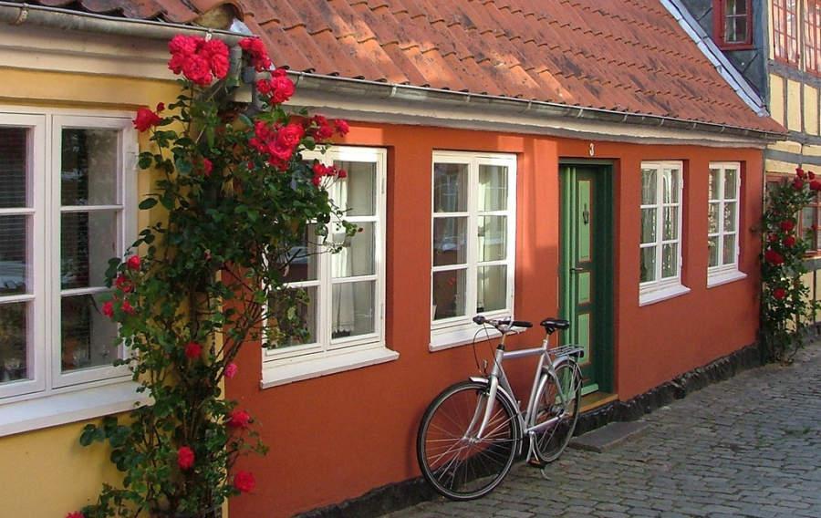 Casa tradicional en Faaborg