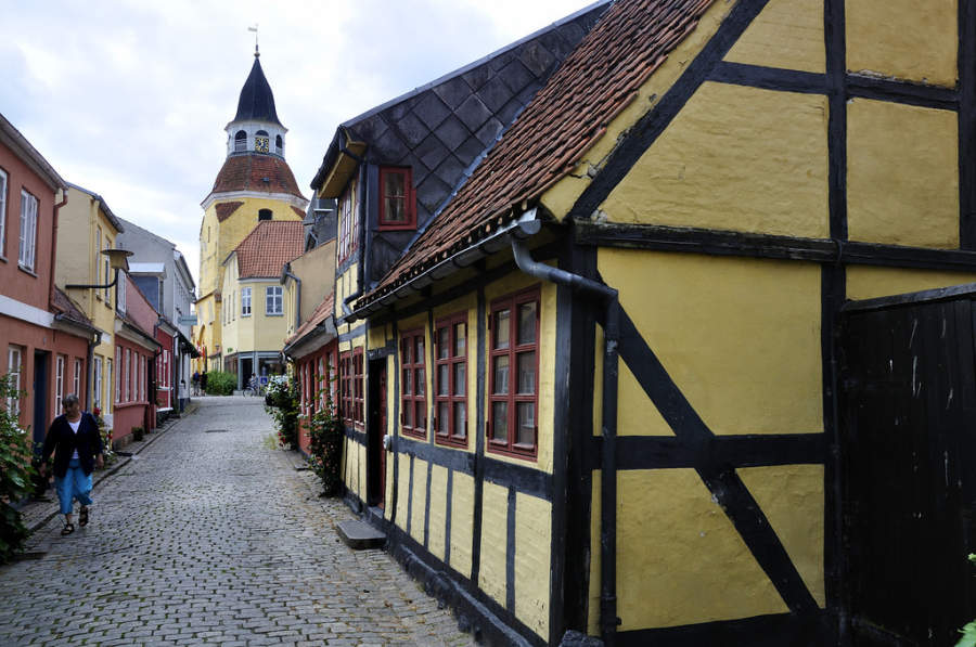 Arquitectura tradicional de Faaborg