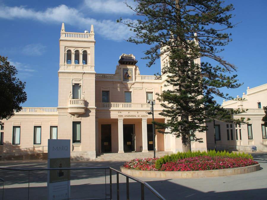 Fachada del Museo Arqueológico Provincial de Alicante (MARQ)