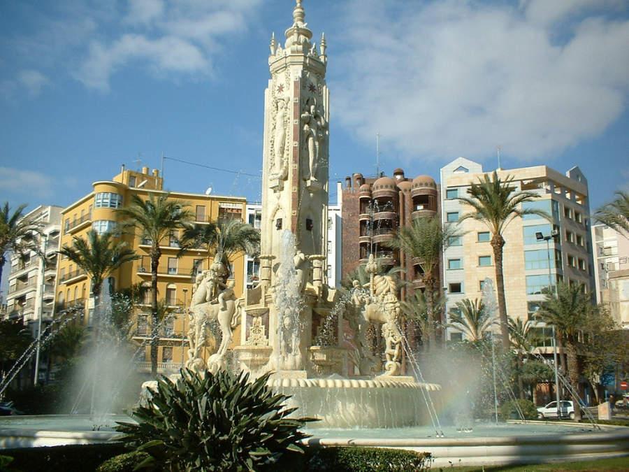 Plaza de Luceros en Alicante