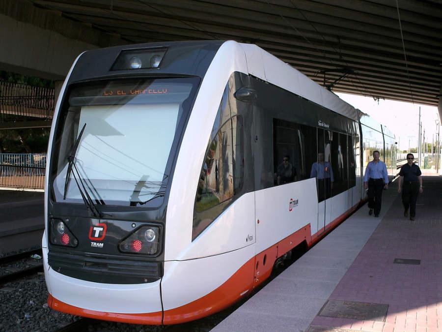TRAM, tranvía metropolitano en Alicante