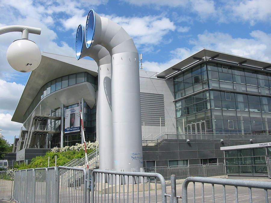 Sparkassen-Arena, donde también se llevan a cabo conciertos