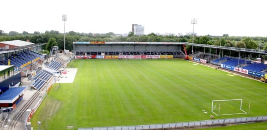Holstein-Stadion, el estadio de futbol en Kiel