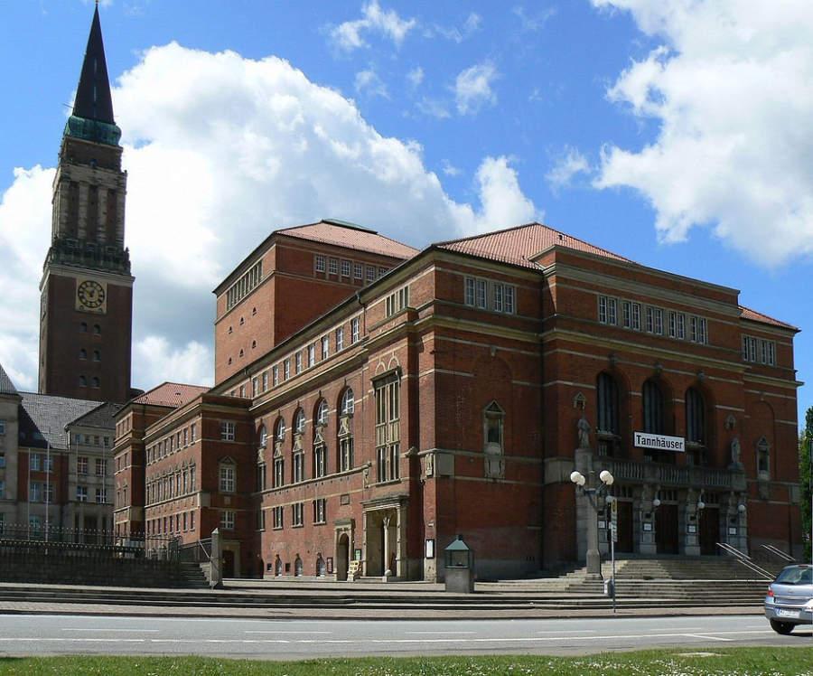 Opernhaus Kiel, el teatro de ópera de esta ciudad