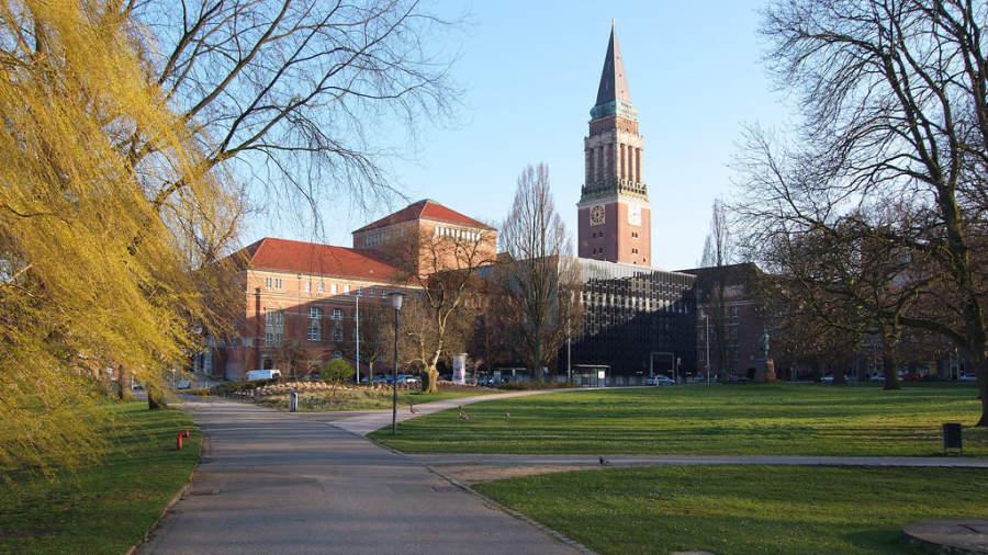 Kieler Rathaus, ayuntamiento de Kiel