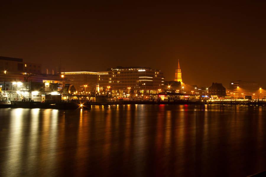 Puerto de la ciudad de Kiel
