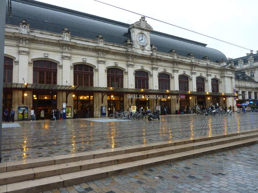 Estación ferroviaria de Burdeos