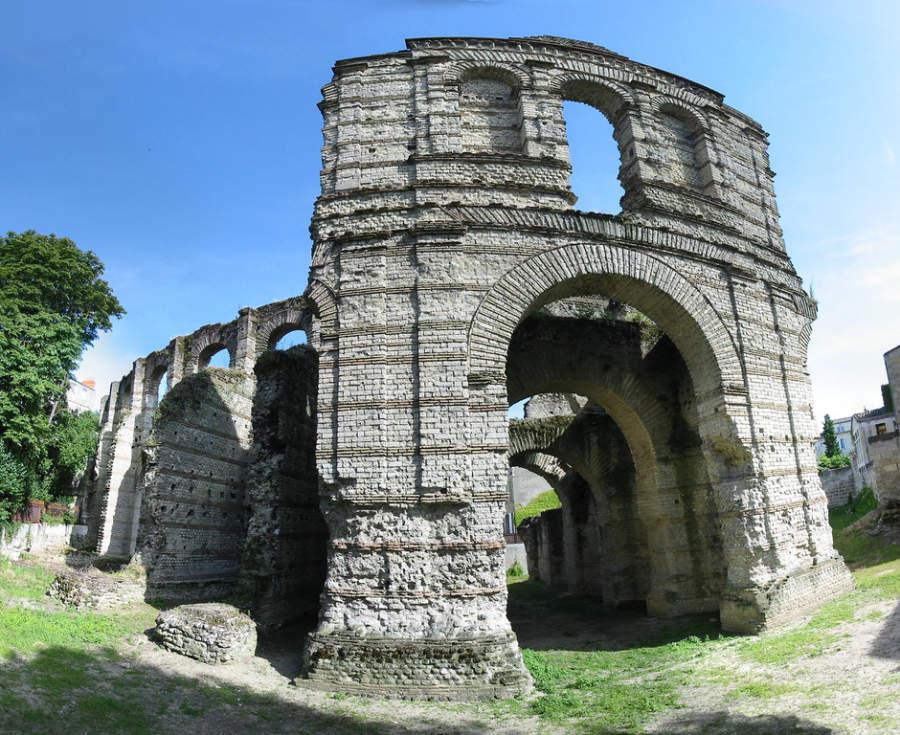 Anfiteatro romano en Burdeos