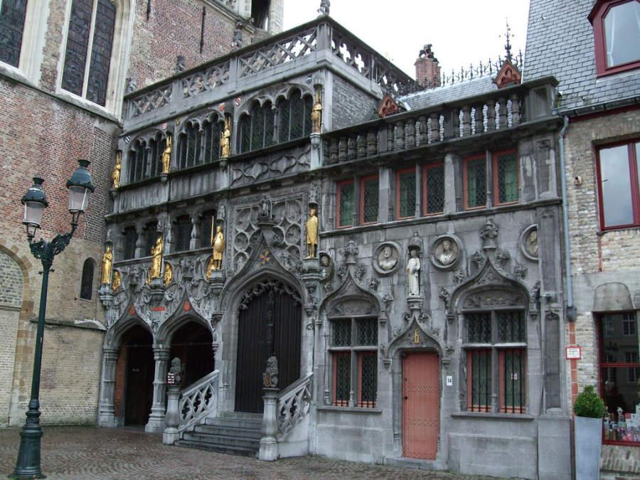 Heilig-Bloedbasiliek, basílica en Brujas