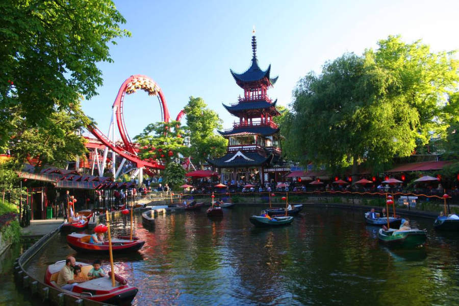 Parque de diversiones Tivoli