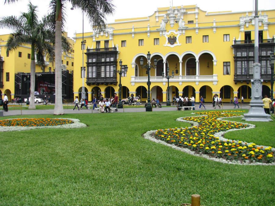 Plaza de Armas, área principal del centro de la ciudad