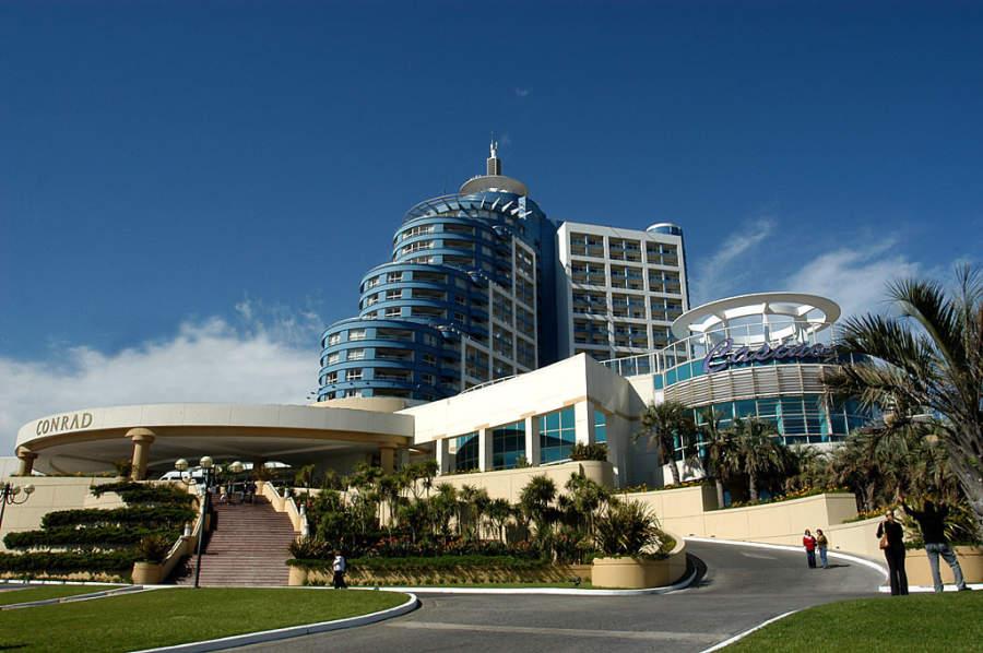 Famoso hotel y casino de Punta del Este