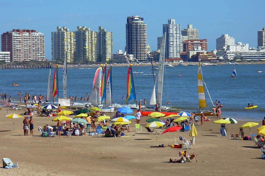 Punta del Este es un importante balneario de América del Sur
