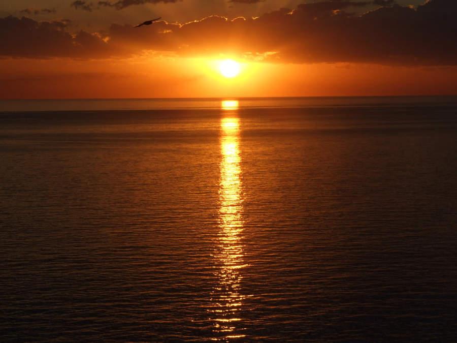 Atardecer en Punta del Este, Uruguay