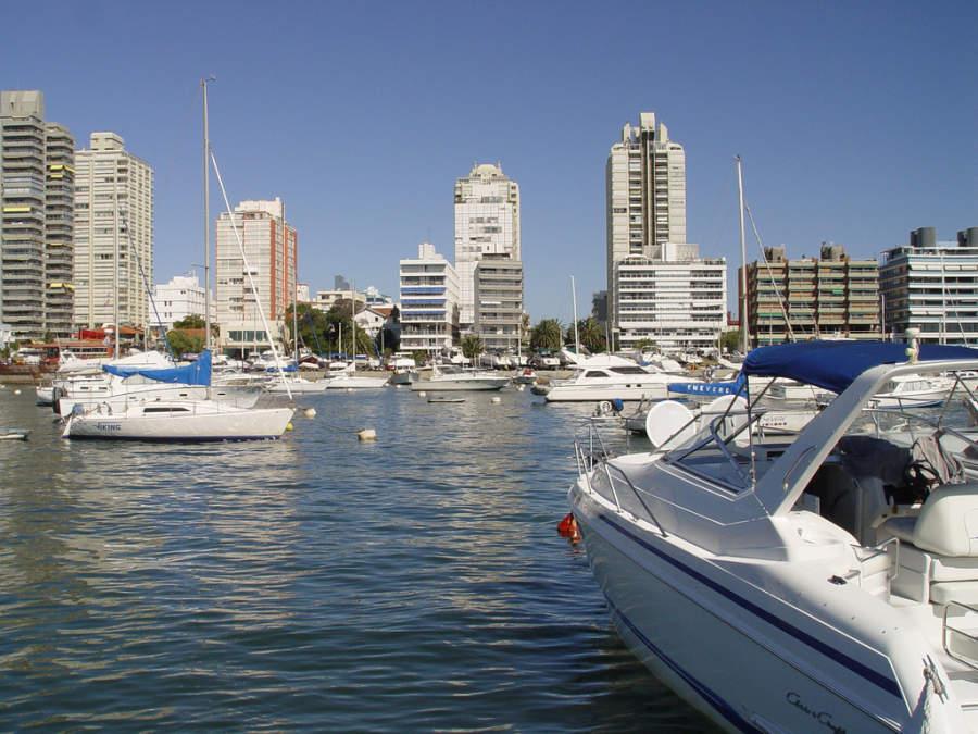 Barcos y yates en Punta del Este