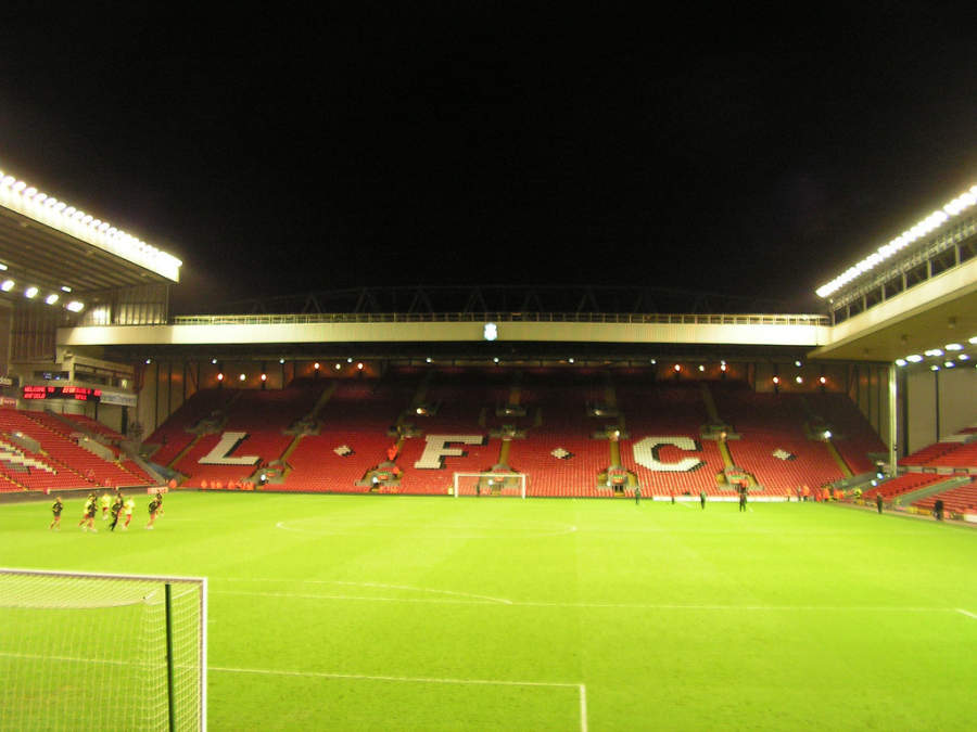 Anfield Stadium, hogar del equipo Liverpool Football Club