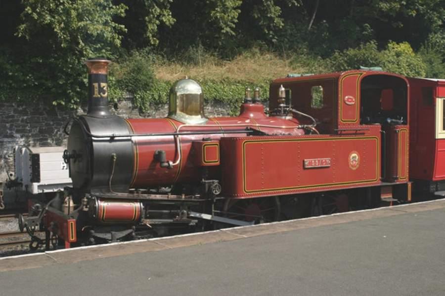 Tren en Douglas