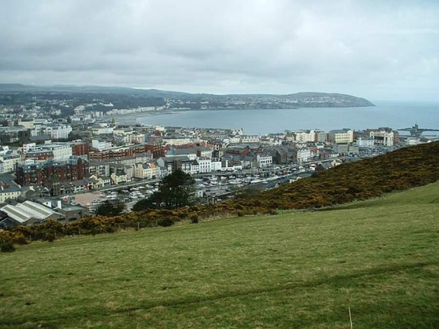 Vista panorámica de la ciudad de Douglas