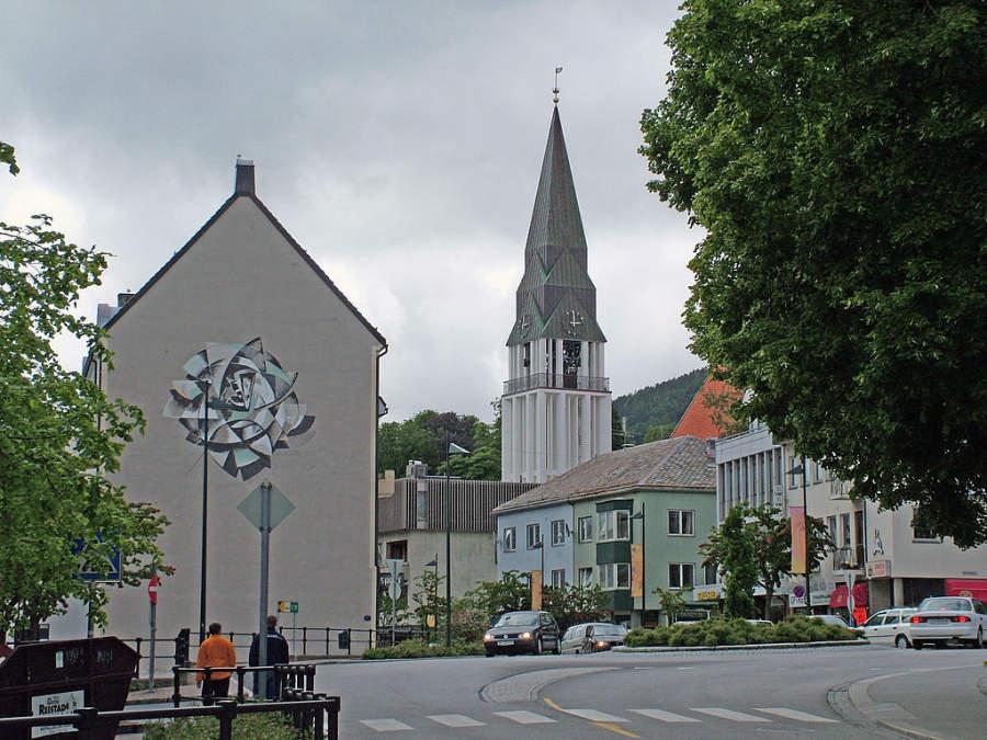Molde Kirche (Iglesia de Molde)