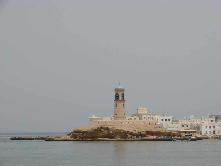Faro en Mascate