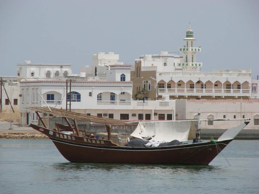 Mascate es un importante puerto en el golfo de Omán