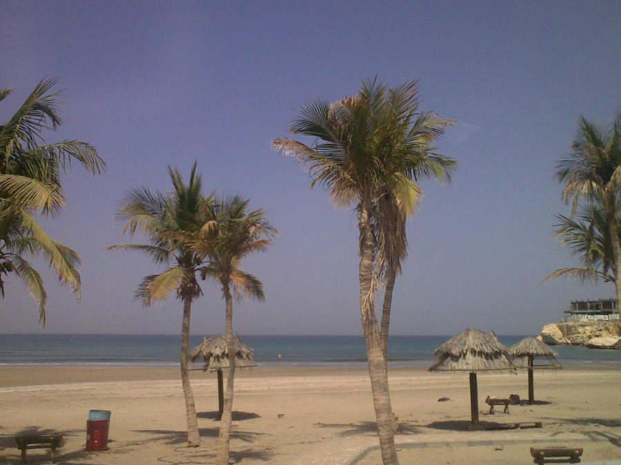 Playa en Mascate