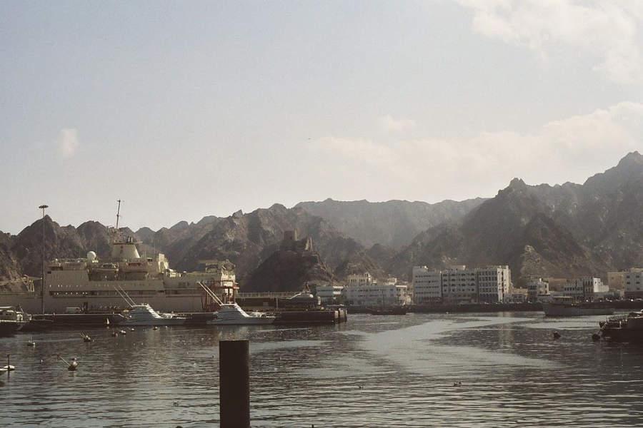 El puerto de Mascate