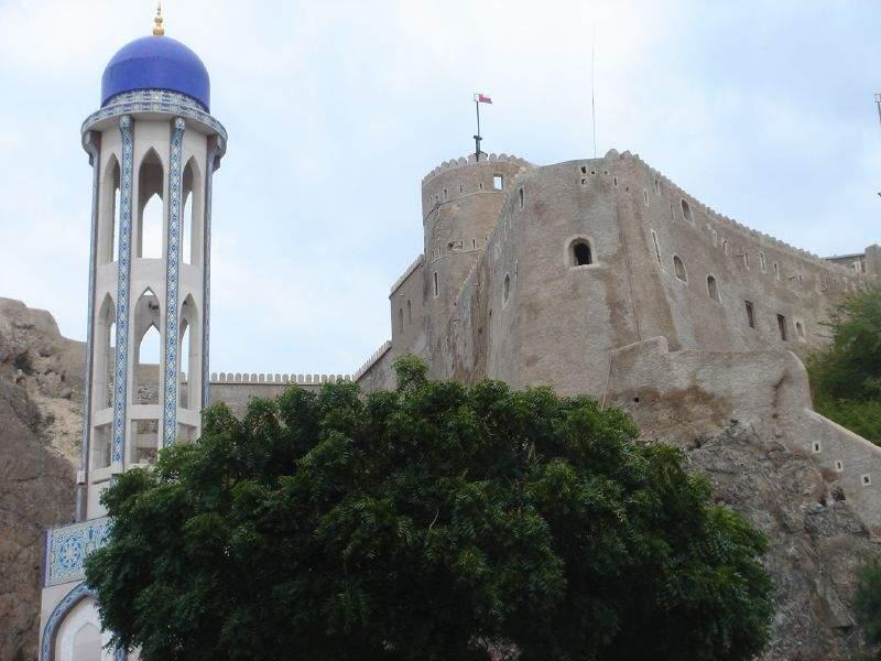 Fuerte Bait Al Falaj, cerca de la ciudad de Mascate