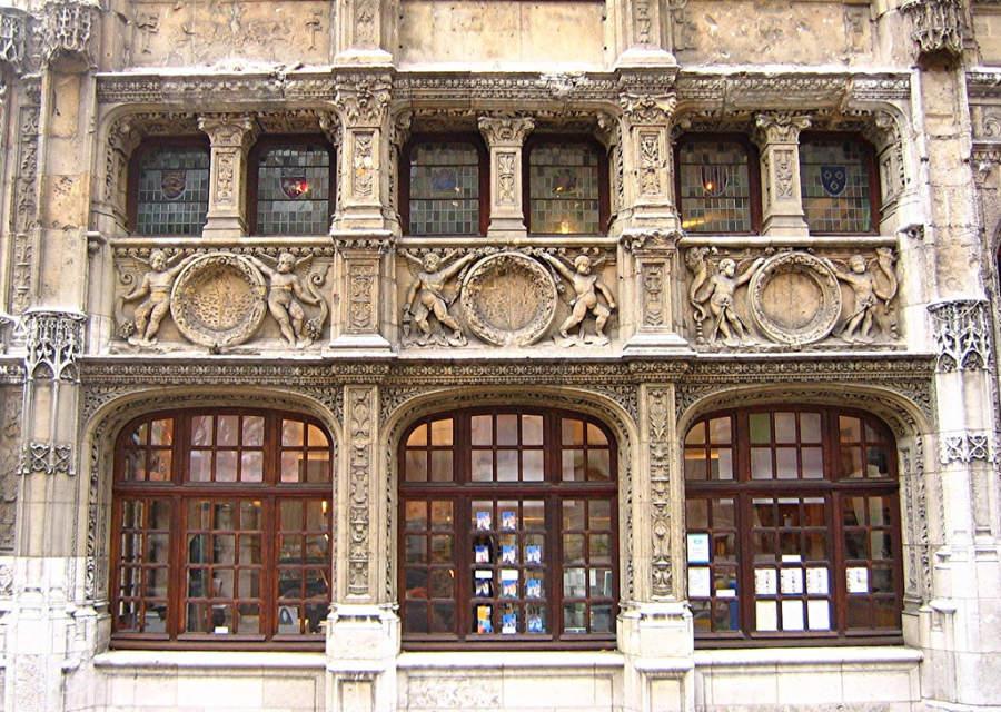 Bureau des Finances, el monumento renacentista más antiguo de la ciudad de Ruan
