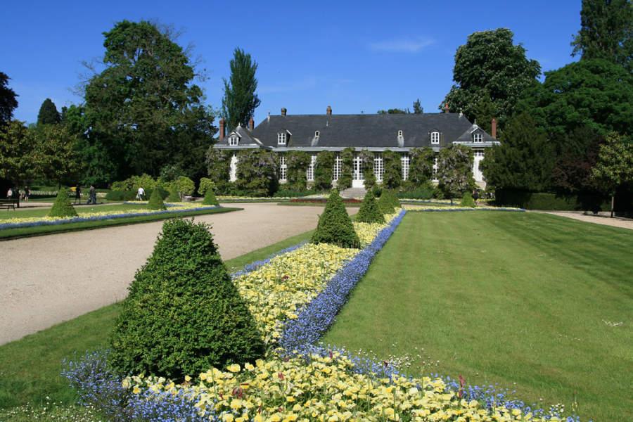 Jardin des plantes de Rouen, jardín botánico