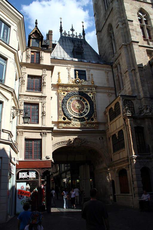 Gros-Horloge, importante monumento de Ruan