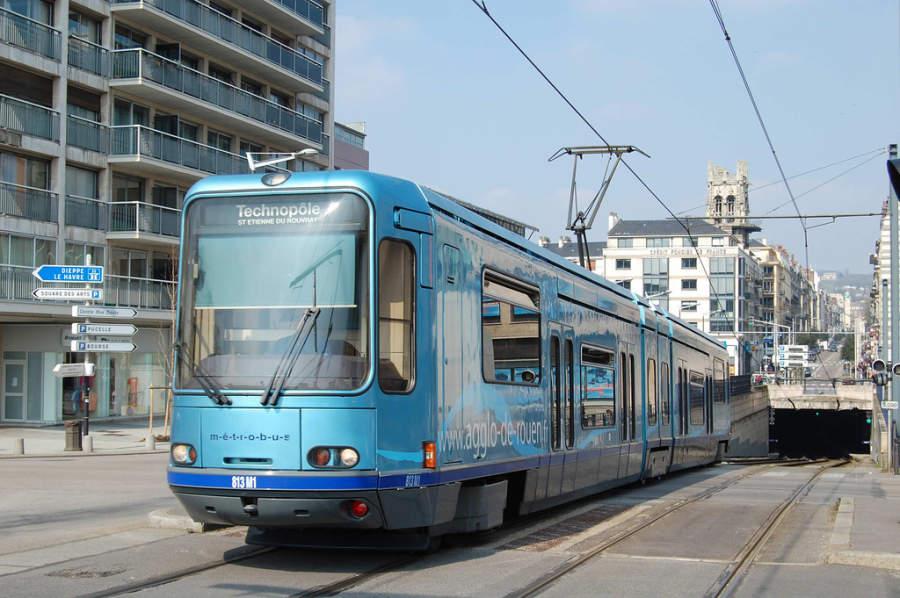Transporte urbano en la ciudad de Ruan