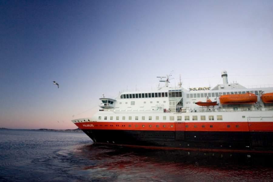 Ålesund es un importante puerto de cruceros