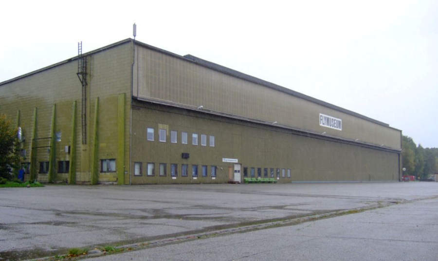 Flyhistorisk Museum Sola, en el aeropuerto de Stavanger