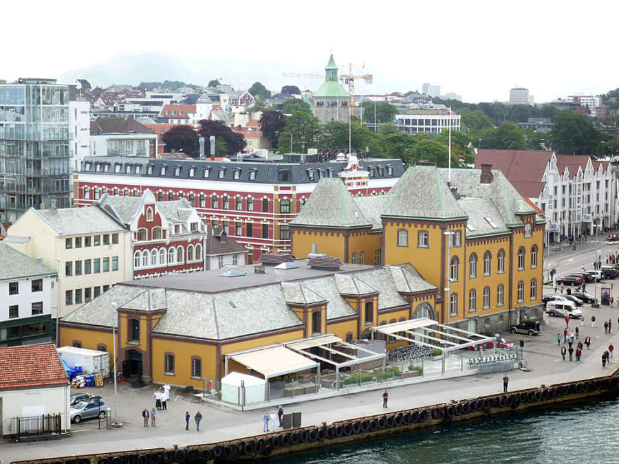 El centro de Stavanger