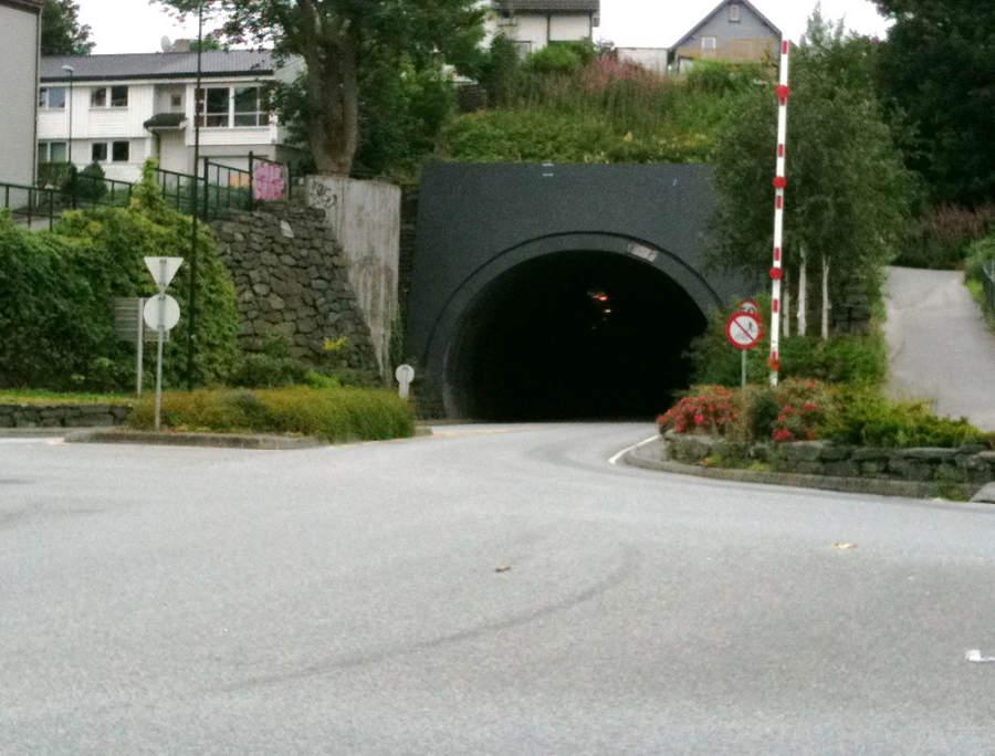 Túnel Storhaugtunnelen en Stavanger