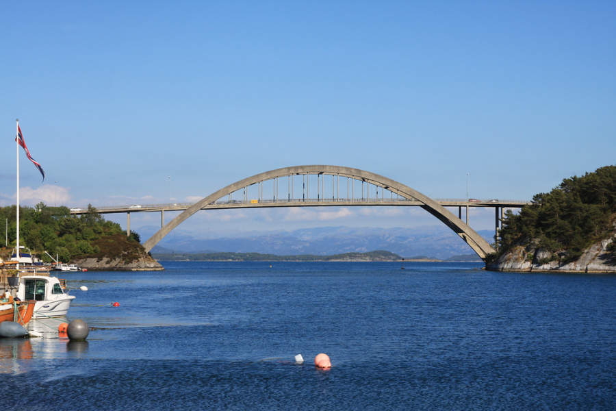 Puente Engøybrua en Stavanger