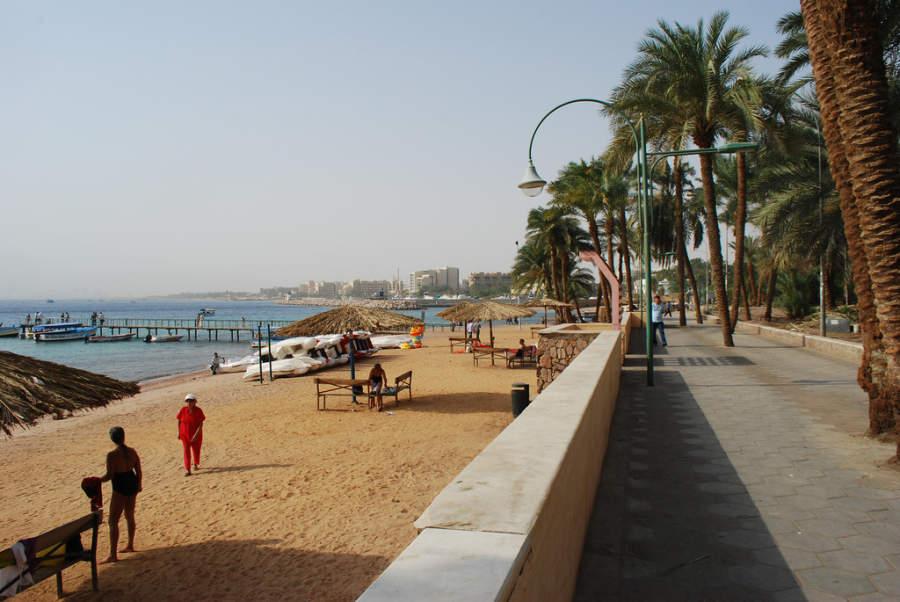 Malecón en Aqaba