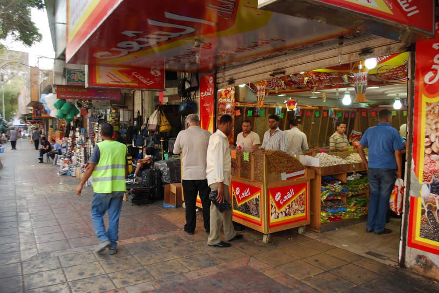 Tienda en Aqaba