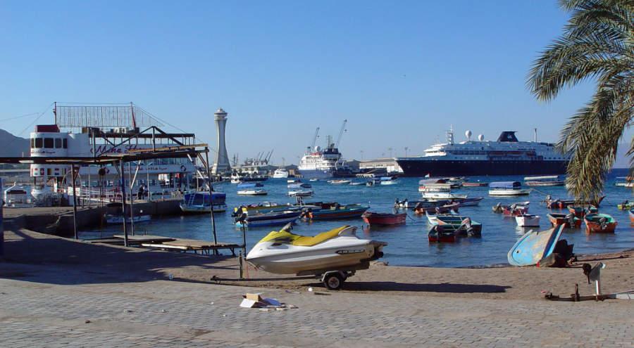 Puerto en Aqaba