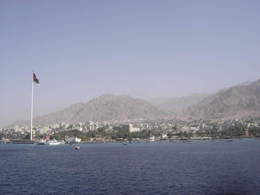Vista panorámica de la ciudad de Aqaba