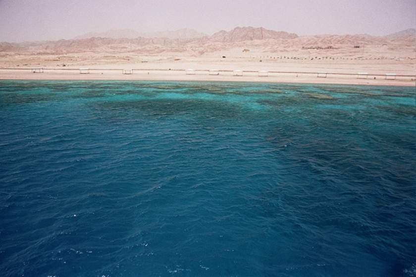 Borde costero del mar Rojo en Aqaba