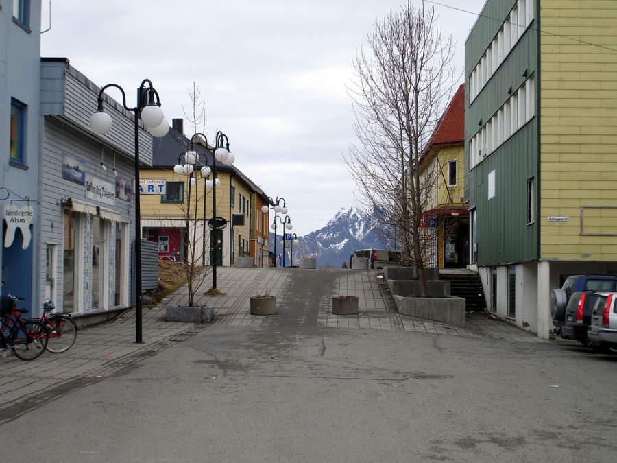 Avenida en Svolvær