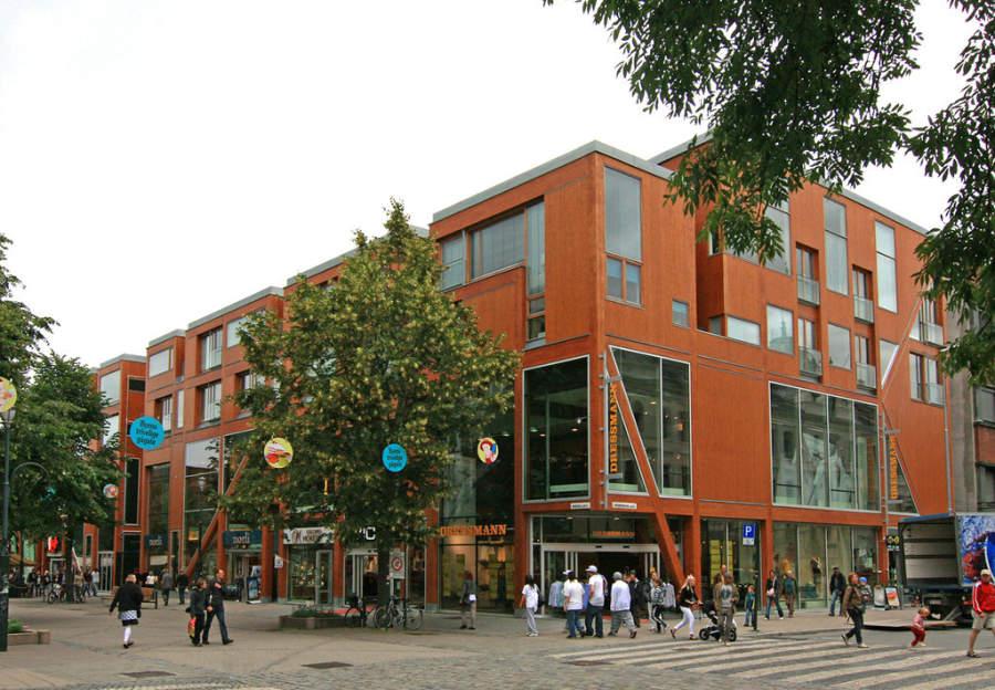 Centro comercial en Trondheim
